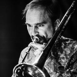 trombone player pasha shcherbakov ache cubano